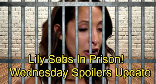 The Young and the Restless Spoilers: Wednesday, September 5 Update & Recap – Dina Goes Missing – Lily Sobs in Prison
