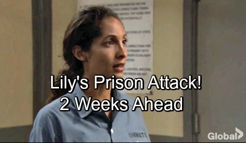 The Young and the Restless Spoilers: 2 Weeks Ahead - Lily Faces Prison Nightmare – Cane Fights for Struggling Wife's Safety