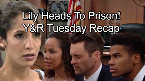 The Young and the Restless Spoilers: Tuesday, September 4 Update & Recap – Lily Heads to Prison, Bids Farewell to Her Family