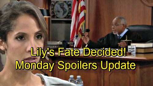 The Young and the Restless Spoilers: Monday, September 3 Update – Judge Decides Lily's Punishment – Cane's Desperate Plea to Devon