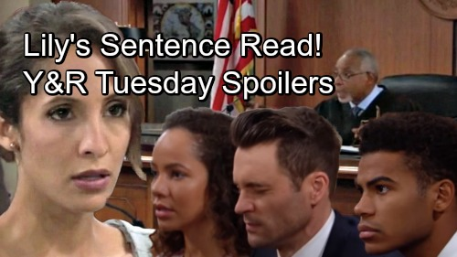 The Young and the Restless Spoilers: Tuesday, September 4 – Lily's Sentence Announced - Tessa's Extortion Drama