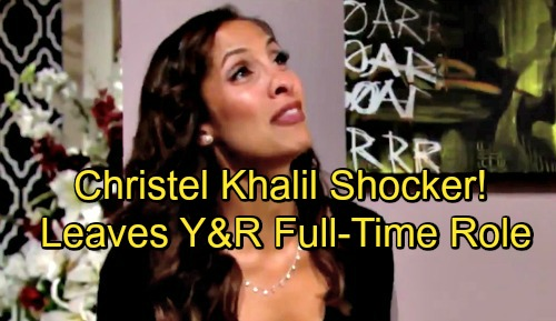 The Young and the Restless Spoilers: Y&R Cast Shocker – Christel Khalil Leaving Full-Time Role as Lily