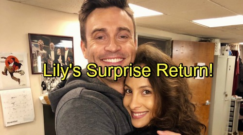 The Young and the Restless Spoilers: Lily's Surprise Return Promises Hot Drama - Christel Khalil Back Filming New Y&R Scenes