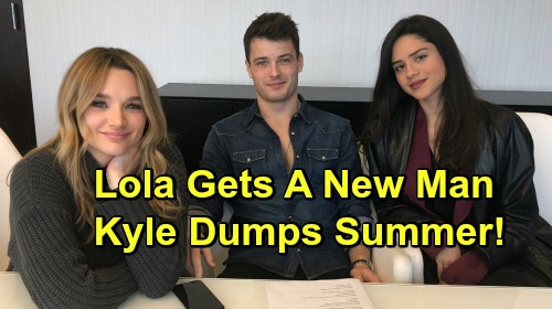 The Young and the Restless Spoilers: Lola's New Man Convinces Jealous Kyle to Fight – Summer Dumped and Devastated?