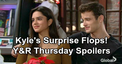 The Young and the Restless Spoilers: Thursday, December 20 – Kyle's Surprise Flops – Mariah's Bitter Rejection – Devon's Fed Up