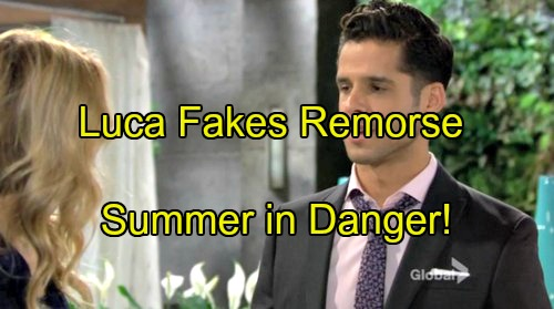 'The Young and the Restless' Spoilers: Luca Fakes Remorse by Putting Summer First -  Santori Still An Evil Schemer