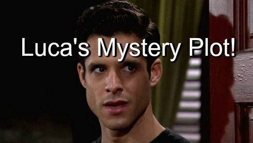 The Young and the Restless (Y&R) Spoilers: Luca Works With Mystery Figure on New Plot - Shawn Moves In with Nick and Sage