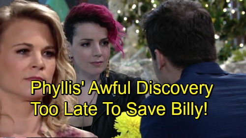 The Young and the Restless Spoilers: Phyllis Discovers Sinead-Kyle Connection - But Comes Too Late To Save Billy