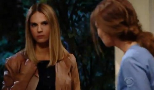 The Young and the Restless Spoilers: Thursday, April 26 – Kyle Discovers Dina's Secret - Mac Grills Victoria – Sharon Hallucinates