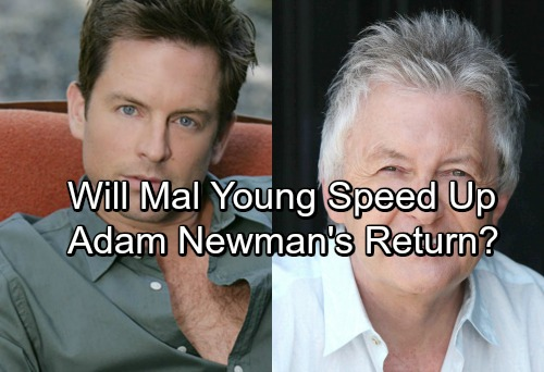 The Young and the Restless Spoilers: Sally Sussman Exit Speeds Up Adam Newman Return - Makes Michael Muhney The Natural Choice