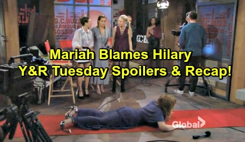 The Young and the Restless Spoilers: Humiliated Mariah Suspects Hilary to Blame, Devon Gets a Shock – Chelsea Leans on Nick