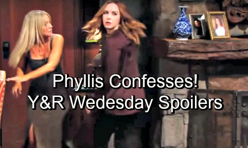 The Young and the Restless Spoilers: Wednesday, August 29 – Victor Warns Devon – Rey Suspicions Swirl – Phyllis Confesses