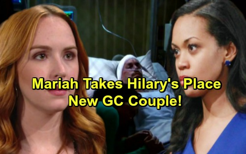 The Young and the Restless Spoilers: Mariah Takes Hilary's Place, Nurses Devon Back To Health - New GC Couple?