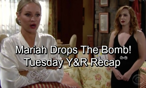 The Young and the Restless Spoilers: Tuesday, October 2 Update – Mariah Drops Betrayal Bomb – Ashley Fears Traci's Power Trip