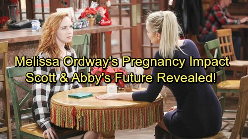 The Young and the Restless Spoilers: Melissa Ordway's Pregnancy Affects Y&R Plot - Scott and Abby's Future Revealed