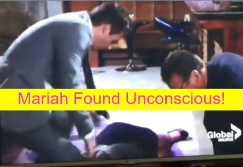 The Young and the Restless (Y&R) Spoilers: Mariah Found Unconscious – Ashley Rips Into Stitch for Proposal Idea