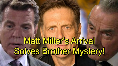 The Young and the Restless Spoilers: Matt Miller's Ominous Arrival - Victor's Brother Answers Jack's Paternity Question