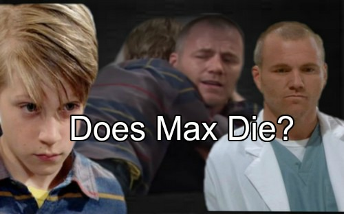 The Young and the Restless (Y&R) Spoilers: Stitch Gets Terrible News - Does Max Die?