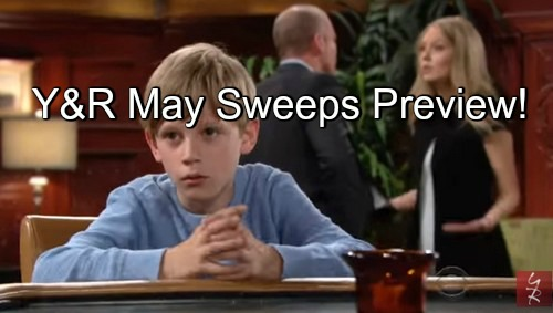 The Young and the Restless (Y&R) Spoilers: May Sweeps – Sharon Loses It - Max Caught For Baby Murder – Victor Gets Revenge