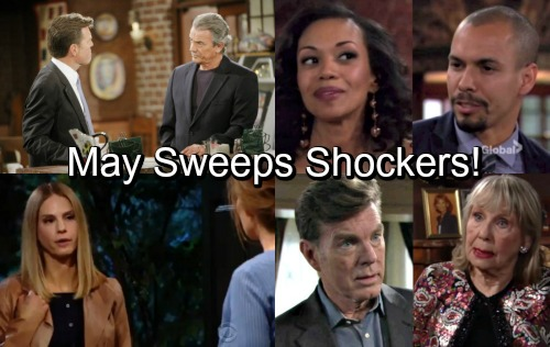 The Young and the Restless Spoilers: May Sweeps Shockers – Check Out the Hot Drama Ahead