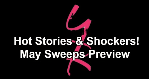 The Young and the Restless Spoilers: May Sweeps Preview – Hot Stories and Shockers Shake Up Genoa City