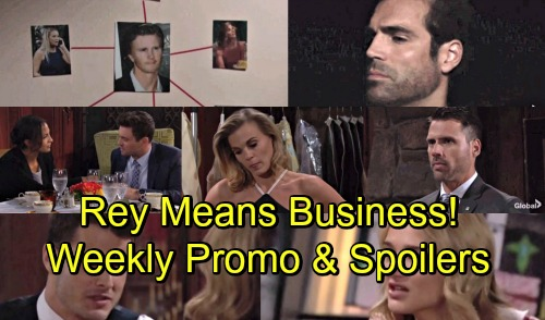 The Young and the Restless Spoilers: Week of August 13 Promo – Rey Is Cover-up Crew's Nightmare – Stunning Secrets Discovered