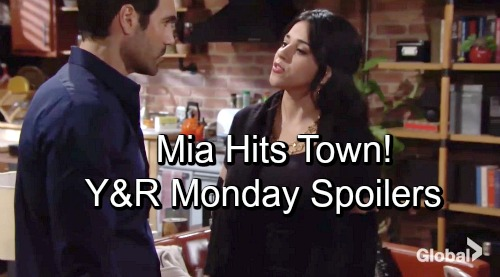 The Young and the Restless Spoilers: Monday, November 12 – Rey's Wife Mia Brings Trouble To GC – Phyllis and Nick Make a Deal