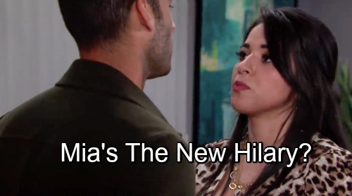 The Young and the Restless Spoilers: Mia Rosales Fills Hilary's Role – Noemi Gonzalez Projects Power and Trouble
