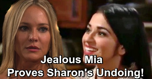 The Young and the Restless Spoilers: Sharon Faces Exposure – Jealous Mia Discovers Cover-Up Crew Secret?