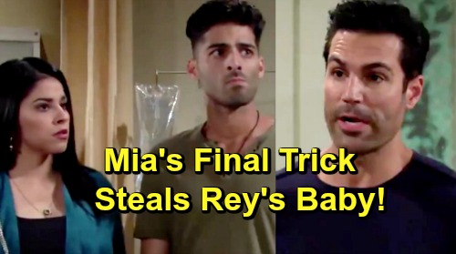 The Young and the Restless Spoilers: Mia's Final Scheme, Rigged Paternity Test Dupes Daddy Rey – Exits with Huge Secret?