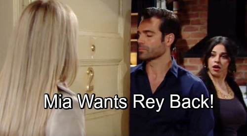 The Young and the Restless Spoilers: Rey's Wife Confronts Sharon - Mia Wants Her Man Back