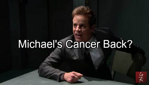 The Young and the Restless Spoilers: Mal Young to Revisit Michael Baldwin Prostate Cancer Storyline?