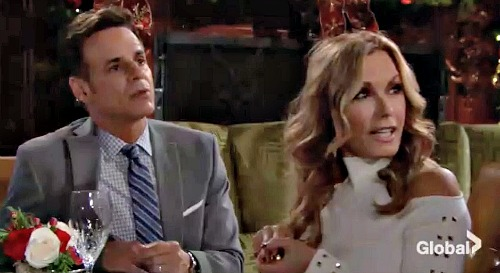 The Young and the Restless Spoilers: Monday, December 3 – Fen's Back with Big Shockers – Michael and Lauren Grill Secretive Son