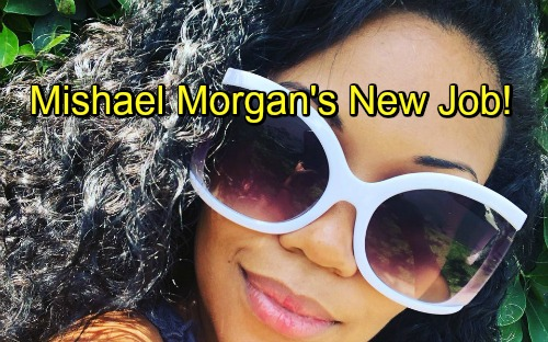 The Young and the Restless Spoilers: Mishael Morgan's Amazing New Role