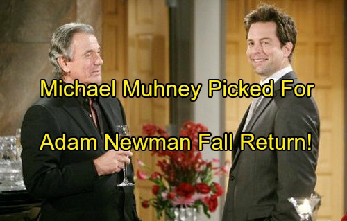 The Young and the Restless Spoilers: Michael Muhney's Adam Newman Return This Fall Linked To Justin Hartley's NBC Series