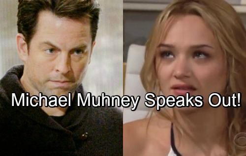 The Young and the Restless Spoilers: Michael Muhney Speaks Out on Y&R Scandal – Defends Hunter King After Online Attacks