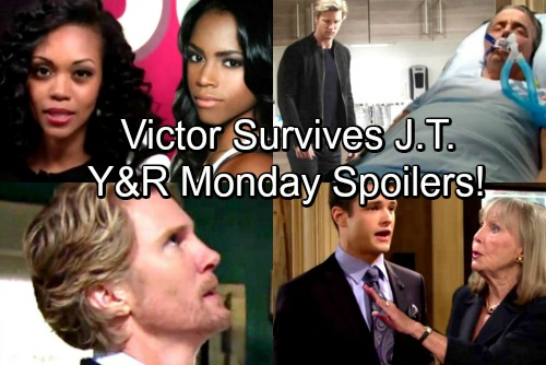 The Young and the Restless Spoilers: Monday, April 9 – Victor Survives J.T.'s Deadly Plot, Newmans Get a Shock