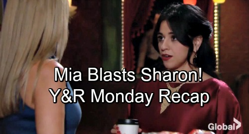 The Young and the Restless Spoilers: Monday, November 12 – Rey Suspects Victoria – Sharon Meets Hostile Mia