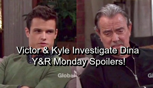 The Young and the Restless Spoilers: Monday, April 23 – Victor and Kyle Investigate Dina's Secret – Jack Prepares for War