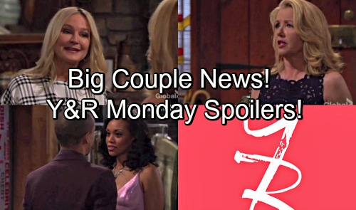 The Young and the Restless Spoilers: Monday, May 21 – Nikki Horrified by Sharon's News – Devon Makes His Move with Hilary
