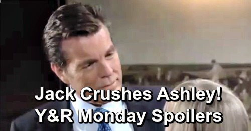 The Young and the Restless Spoilers: Monday, April 15 – Victoria Comes Clean to Billy – Jack Gets Ahead of Ashley