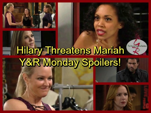 The Young and the Restless Spoilers: Hilary Warns Mariah's Gig Will End in Disaster – Phyllis's Fresh Start, Nick Offers Support