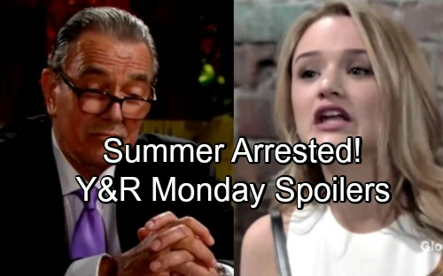 The Young and the Restless Spoilers: Monday, June 4 – Summer's Comeback Brings Trouble – Victor Sues For Full Custody