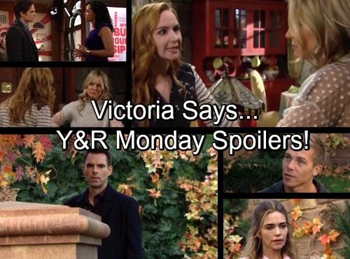 The Young and the Restless Spoilers: Victoria Reacts to Marriage Proposal - Mariah Exposed as Hilary Digs - Sharon Despised