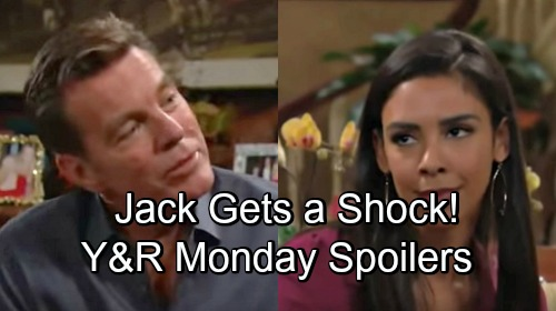 The Young and the Restless Spoilers: Monday, November 26 – Jack Gets a Shock – Nick's Love Disaster – Tessa Faces Fierce Threat
