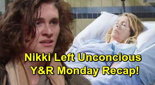 The Young and the Restless Spoilers: Monday, December 17 Recap – Nikki's Unconscious After Hit and Run – Jabot Party Drama