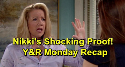 The Young and the Restless Spoilers: Monday, April 15 Recap – Victor's Paying a Secret Shrink – Nikki Uncovers Startling Proof