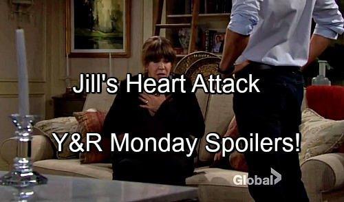 The Young and the Restless Spoilers: Billy Gives Jill a Heart Attack – Dylan Urges Sharon to Come Clean – Abby Rejects Baby
