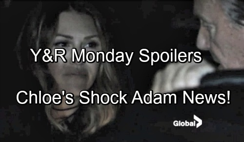 'The Young and the Restless' Spoilers: Chloe's Big Adam News For Victor – Chelsea Hides From Paul – Lucinda Shocks Neil