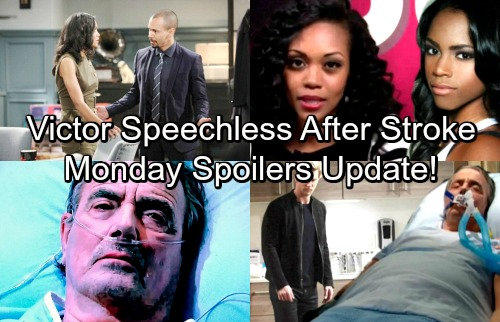 The Young and the Restless Spoilers: Monday, April 9 – Victor's Stroke Leaves Him Speechless – Shocking New Video